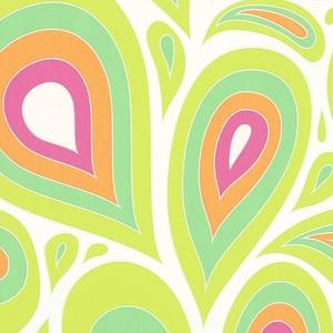 Minimalist Paisley - Summer Palette NN160