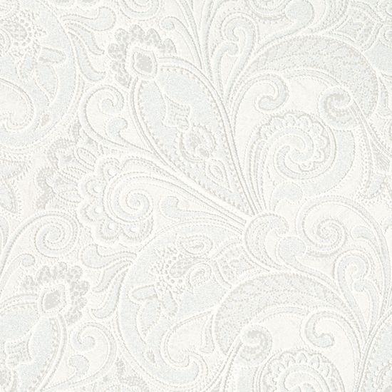 Paisley - White 56825