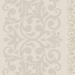 Flora Stripe - Bone White 55233