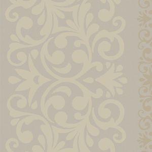 Floral Stripe - Mushroom Grey 55237