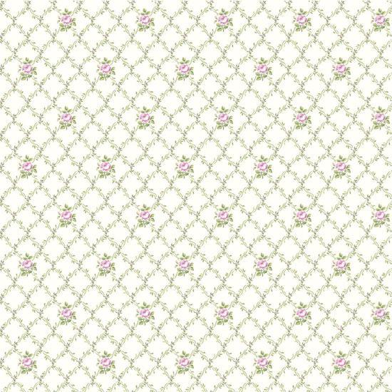 Victorian Garden Toss Wallpaper AK7416