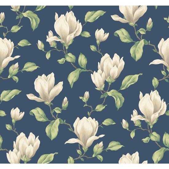 Magnolia Branch Wallpaper AK7422