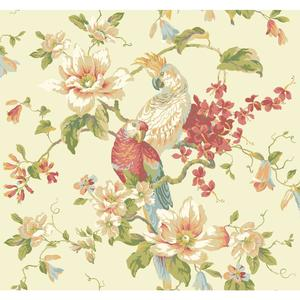 Tropical Birds with Magnolias AK7460