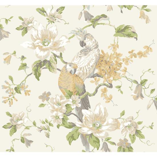 Tropical Birds with Magnolias AK7461