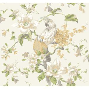 Tropical Birds with Magnolias AK7461