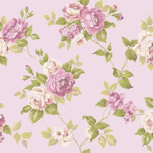 Garden Rose Trail Wallpaper AK7493
