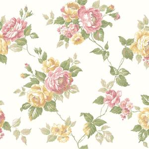 Garden Rose Trail Wallpaper AK7494