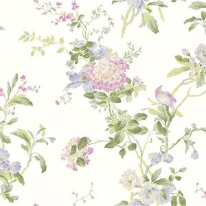 Flower Vine Wallpaper AK7502