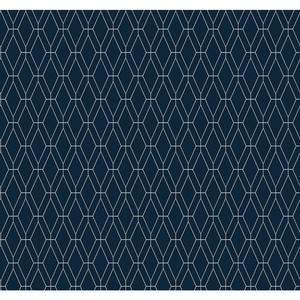 Diamond Lattice Wallpaper GE3652
