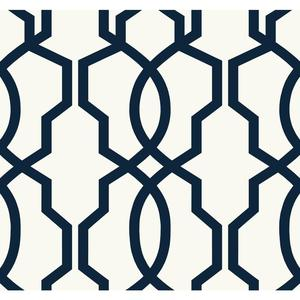 Hourglass Trellis Wallpaper GE3664