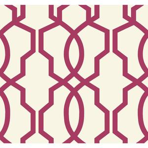 Hourglass Trellis Wallpaper GE3669