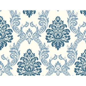 Ogee Damask Wallpaper HS2125
