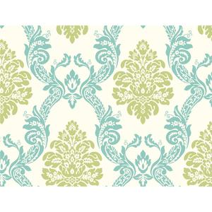 Ogee Damask Wallpaper HS2126