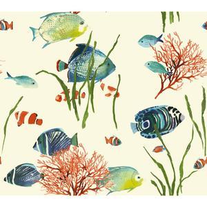 Tropical Reef Wallpaper AT7001