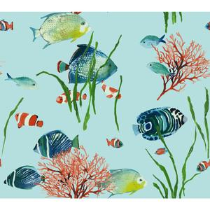 Tropical Reef Wallpaper AT7003