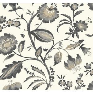 Watercolor Jacobean Wallpaper AT7018