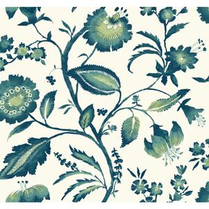 Watercolor Jacobean Wallpaper AT7020