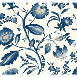 Watercolor Jacobean Wallpaper AT7021