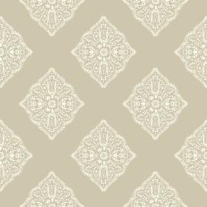 Henna Tile Wallpaper AT7026