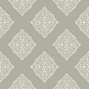 Henna Tile Wallpaper AT7027