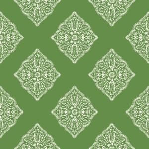 Henna Tile Wallpaper AT7029