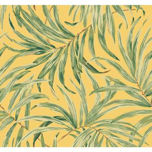Bali Leaves Wallpaper AT7052