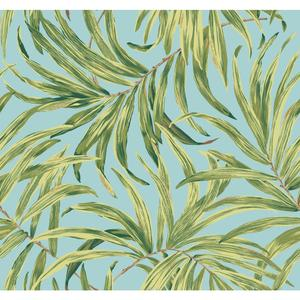 Bali Leaves Wallpaper AT7053