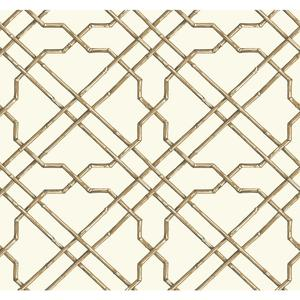 Bamboo Trellis Wallpaper AT7074