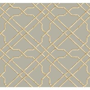 Bamboo Trellis Wallpaper AT7076