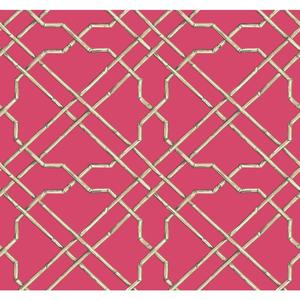 Bamboo Trellis Wallpaper AT7079