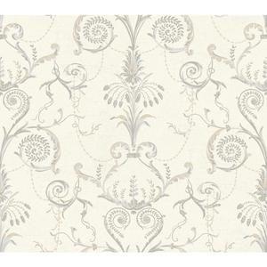 Neo Classic Damask Wallpaper AB1940