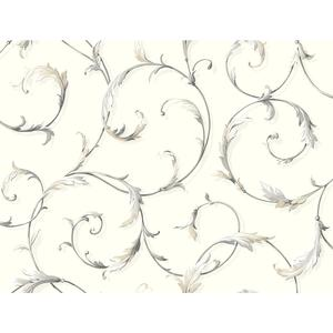 Acanthus Scroll Wallpaper AB1961