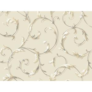 Acanthus Scroll Wallpaper AB1962