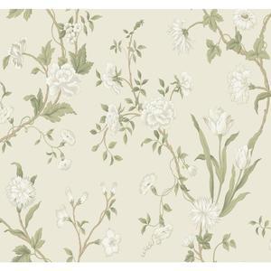 Gracie Floral Wallpaper AB2119