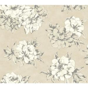 Watercolor Floral Wallpaper AB2125