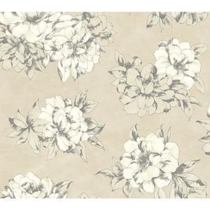 Watercolor Floral Wallpaper AB2125