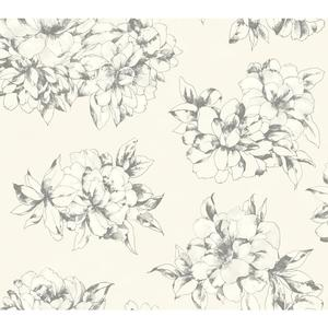 Watercolor Floral Wallpaper AB2126