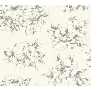 Watercolor Floral Wallpaper AB2126