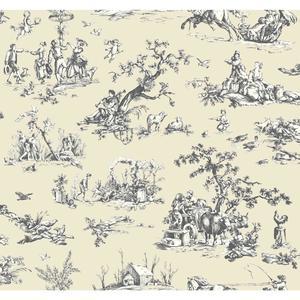 Scenic Toile Wallpaper AB2130