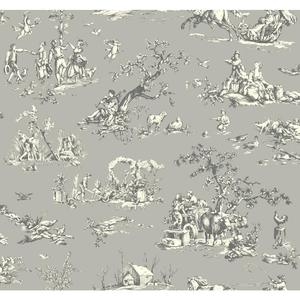 Scenic Toile Wallpaper AB2131