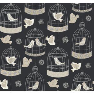 Birdcage Wallpaper AB2143