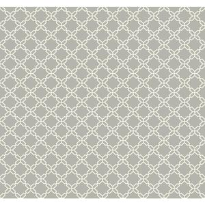 Geometric Trellis Wallpaper AB2155
