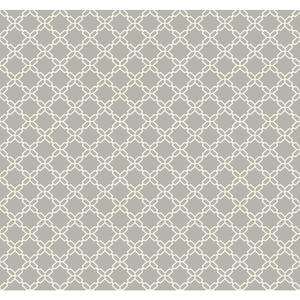 Geometric Trellis Wallpaper AB2155