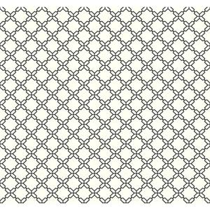 Geometric Trellis Wallpaper AB2156
