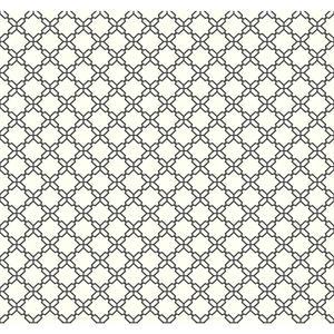 Geometric Trellis Wallpaper AB2156