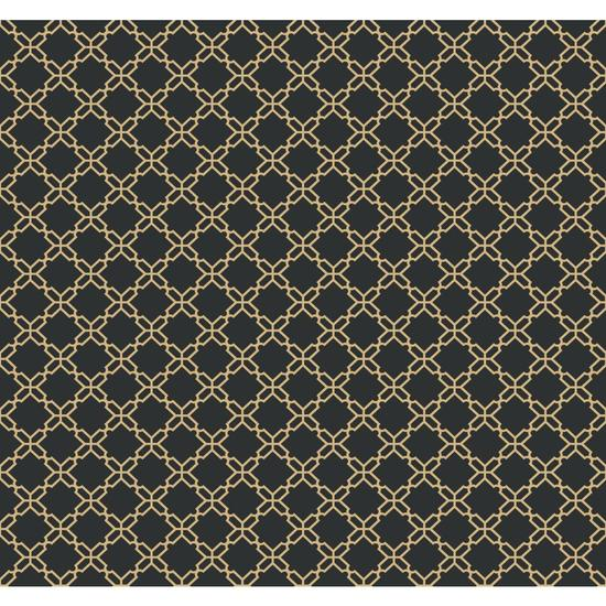 Geometric Trellis Wallpaper AB2157