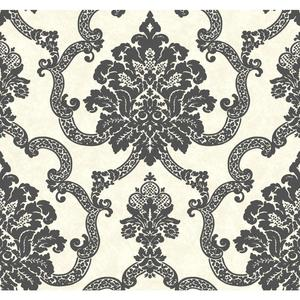 Decorative Damask Wallpaper AB2182