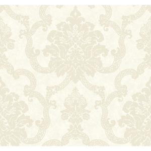 Decorative Damask Wallpaper AB2183
