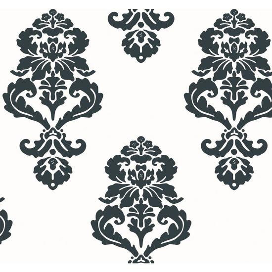 Graphic Damask Wallpaper BL0396
