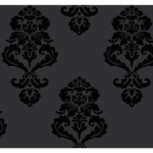 Graphic Damask Wallpaper BL0397